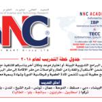 NNC Academy 2018 plan